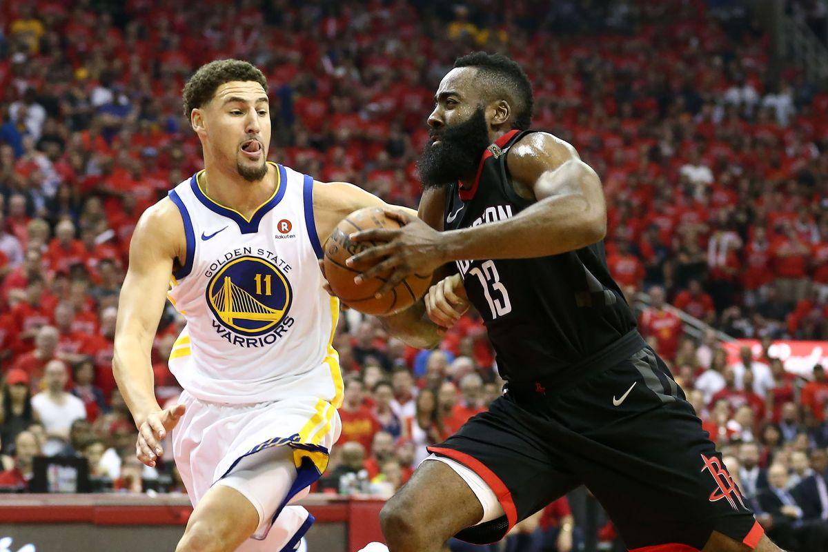 湯普森:哈登的垃圾話水平很高,每次對決他總能說出些新花樣!-Haters-黑特籃球NBA新聞影音圖片分享社區
