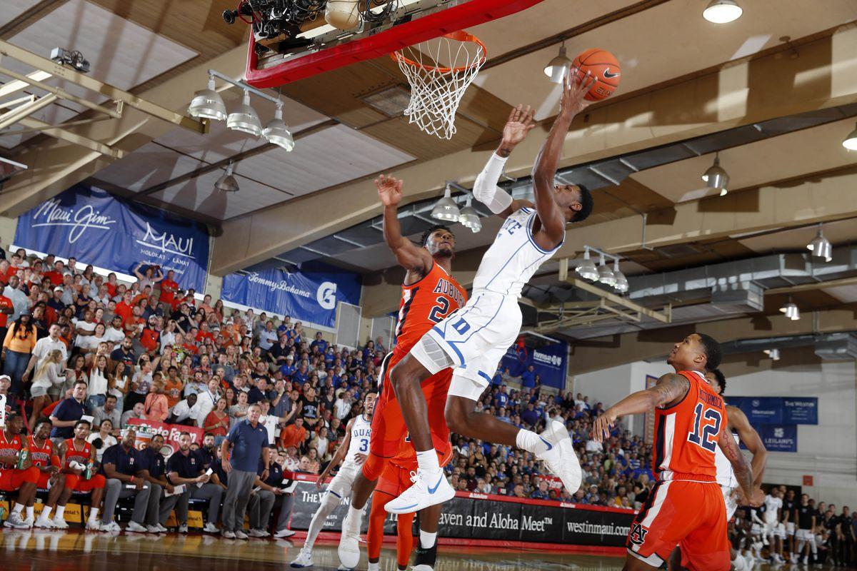 NCAA Basketball: Auburn at Duke
