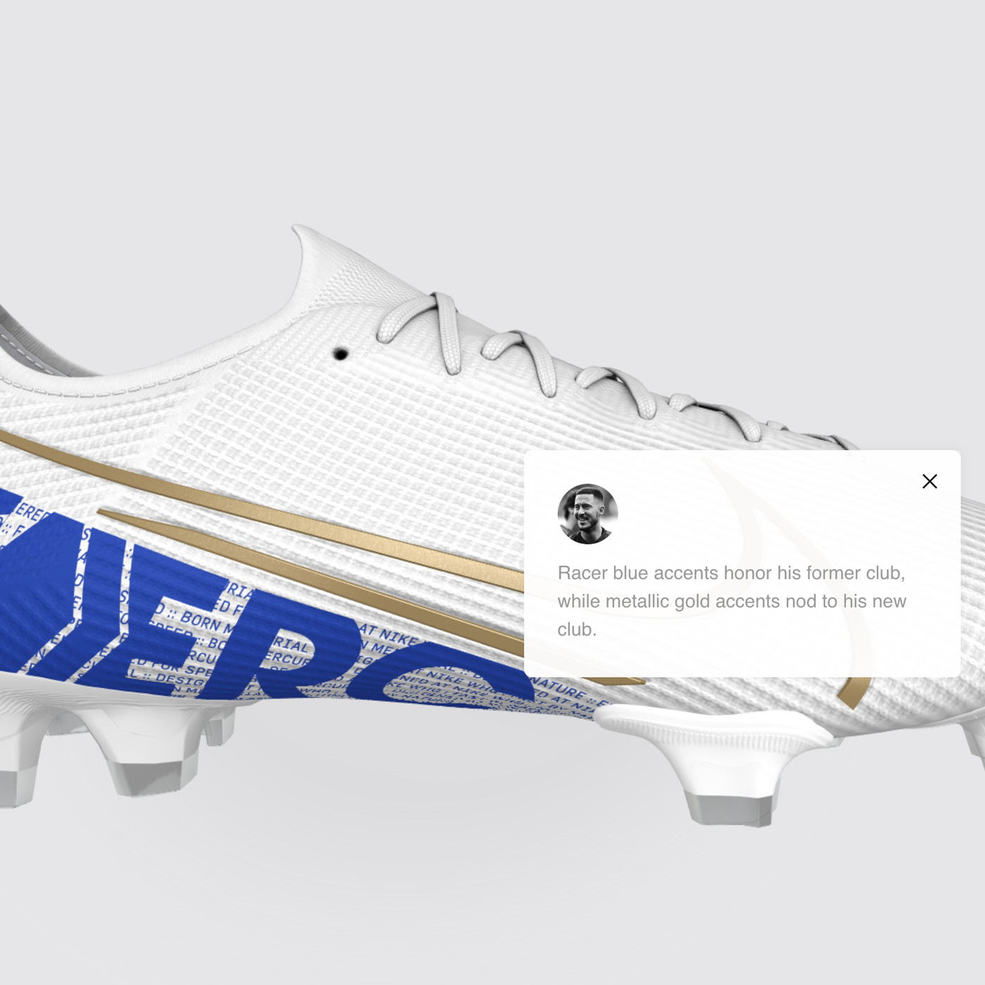 estar impresionado encuesta Contando insectos  Real Madrid's Eden Hazard pays tribute to Chelsea with new custom ...