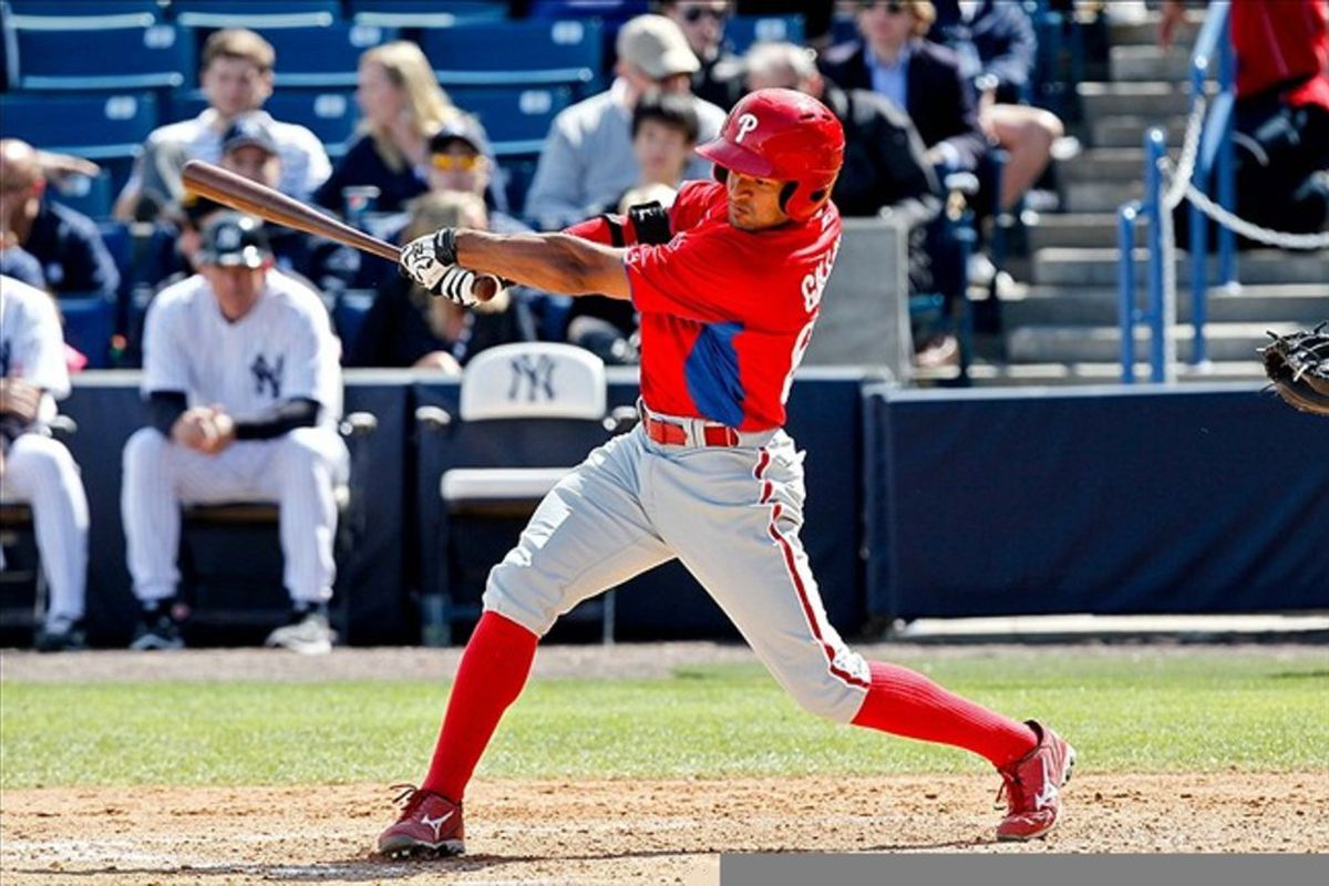 Gillies is hitting .350/.391/.500 in 14 games since his return to Reading earlier this month. Mandatory Credit: Derick E. Hingle-US PRESSWIRE