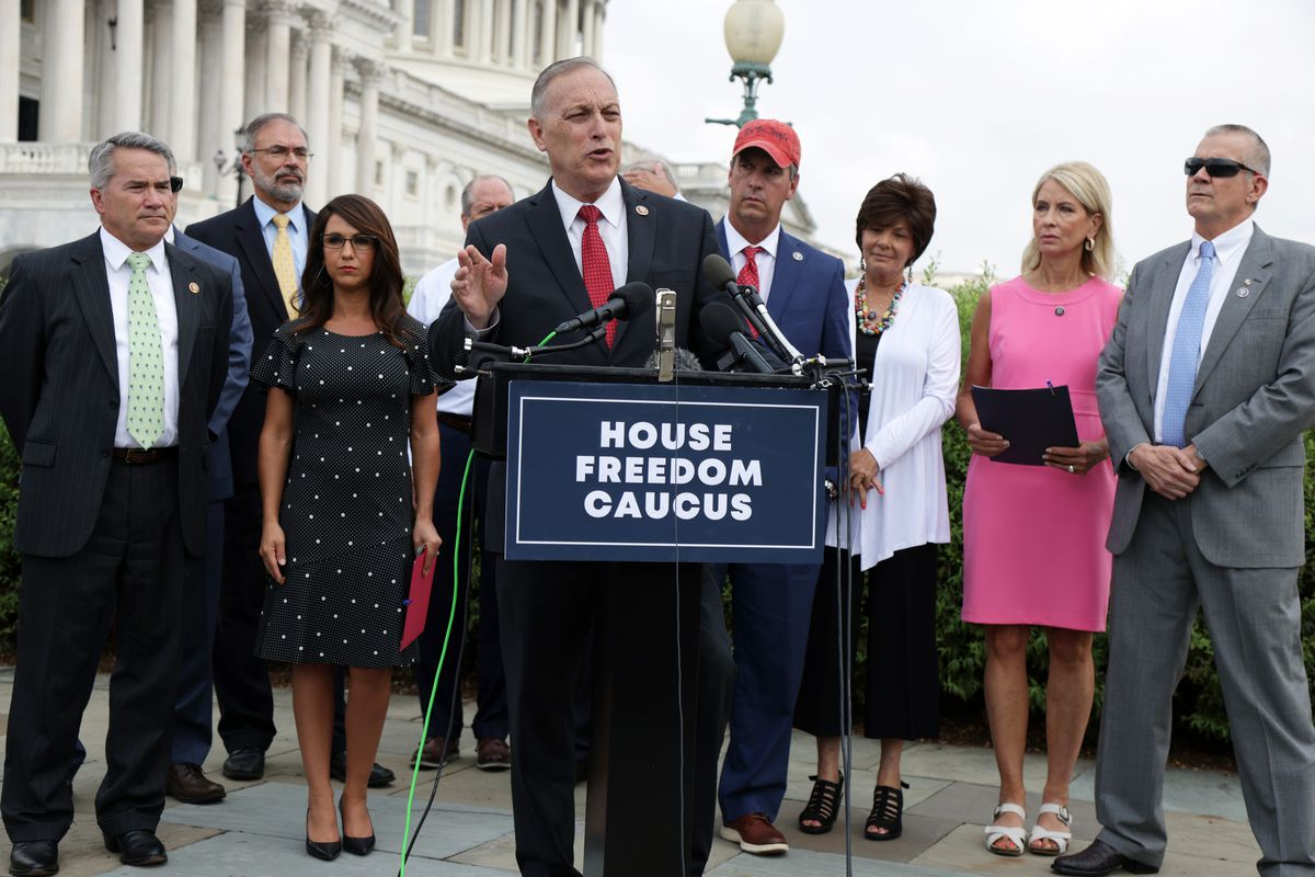 GOP Freedom Caucus Members Call For Reps. Liz Cheney And Adam Kinzinger To Be Expelled From House GOP Conference