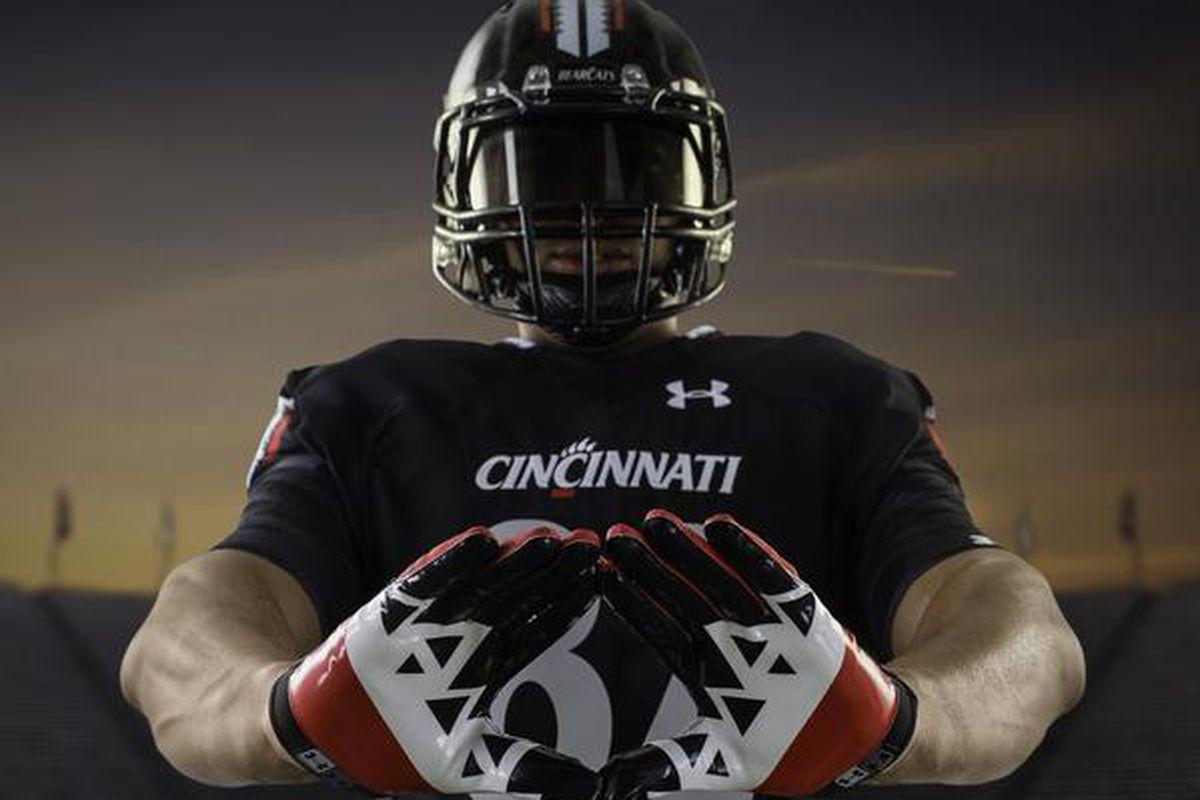 Cincinnati new gloves