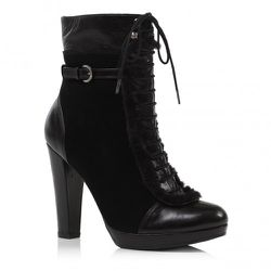 Covent  in Black Suede<br />$595