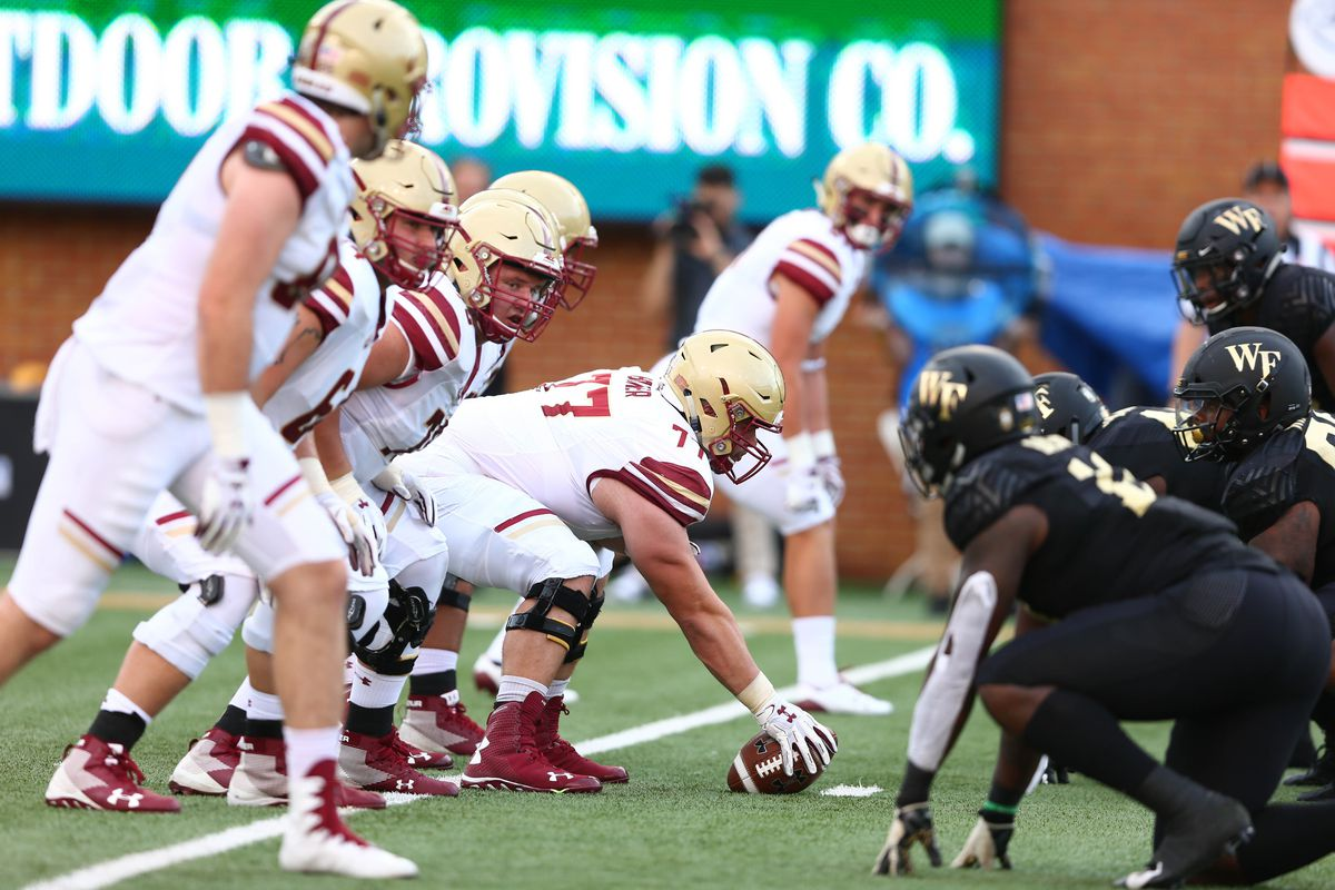 NCAA Football: Boston College at Wake Forest