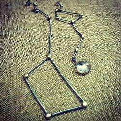 """<a href=""""http://www.etsy.com/listing/118851265/big-dip-lil-dip-earrings?"""">Big Dip, Lil Dip Earrings</a>, $62"""