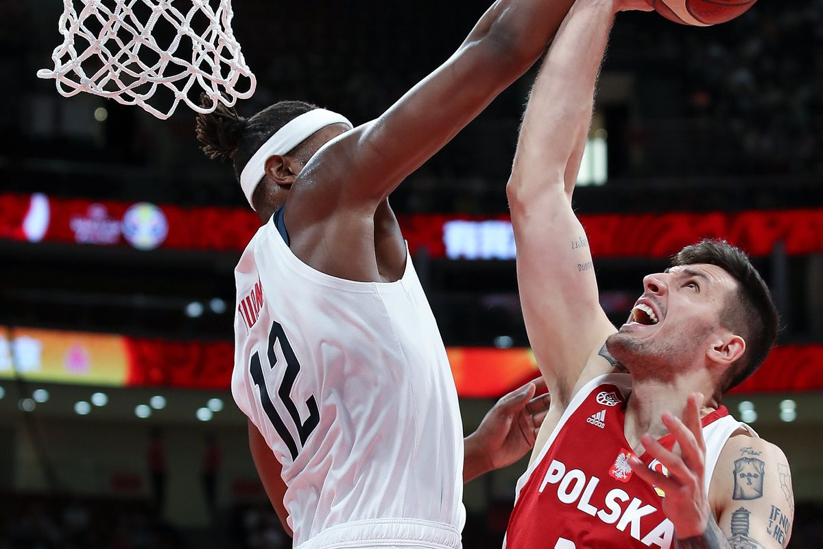Myles Turner holds block party in Team USA's win over Poland