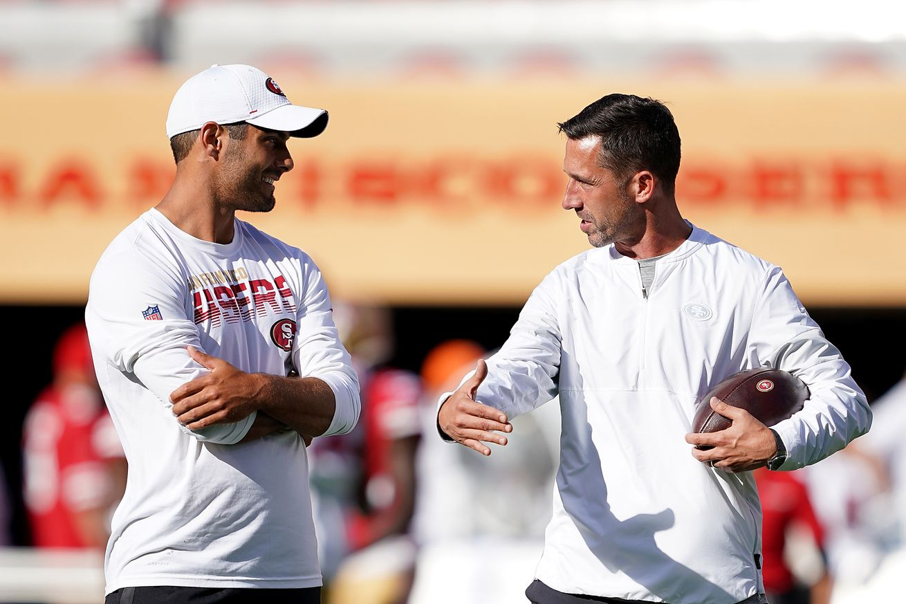 Jimmy Garoppolo, Mike Shanahan sound off on working together
