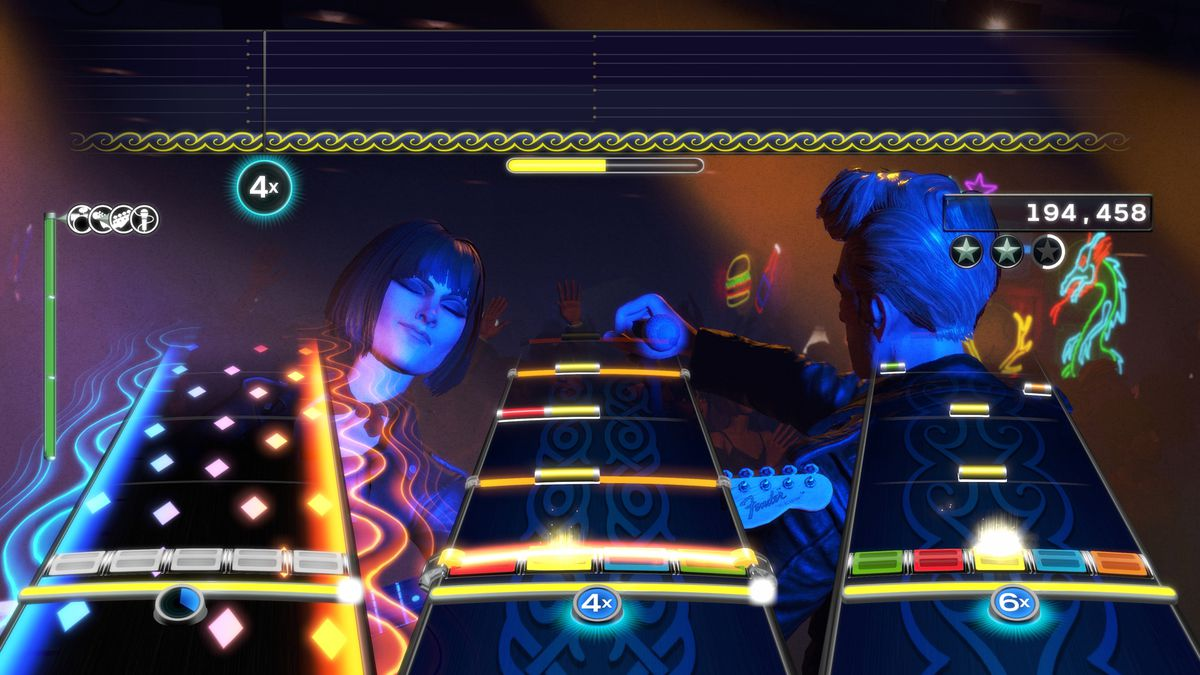 Rock Band 4 and Guitar Hero Live want to remind us of rhythm games