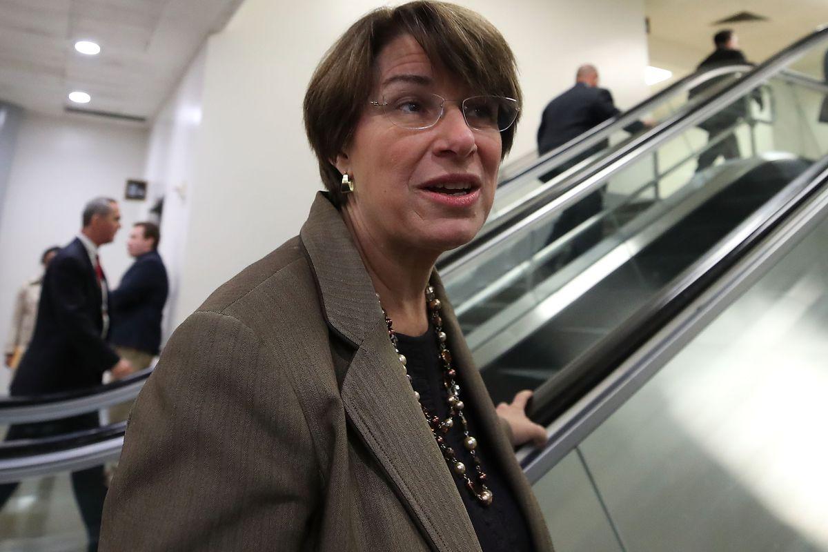 Democratic Senator Amy Klobuchar from Minnesota