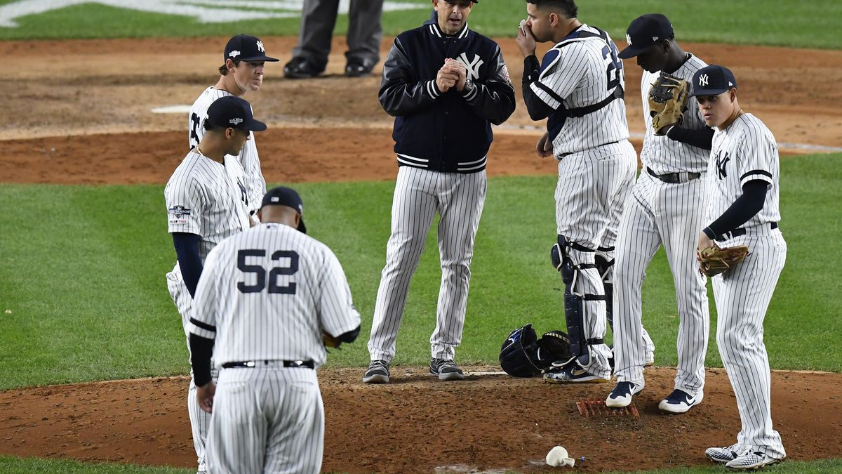 MLB: ALCS-Houston Astros at New York Yankees