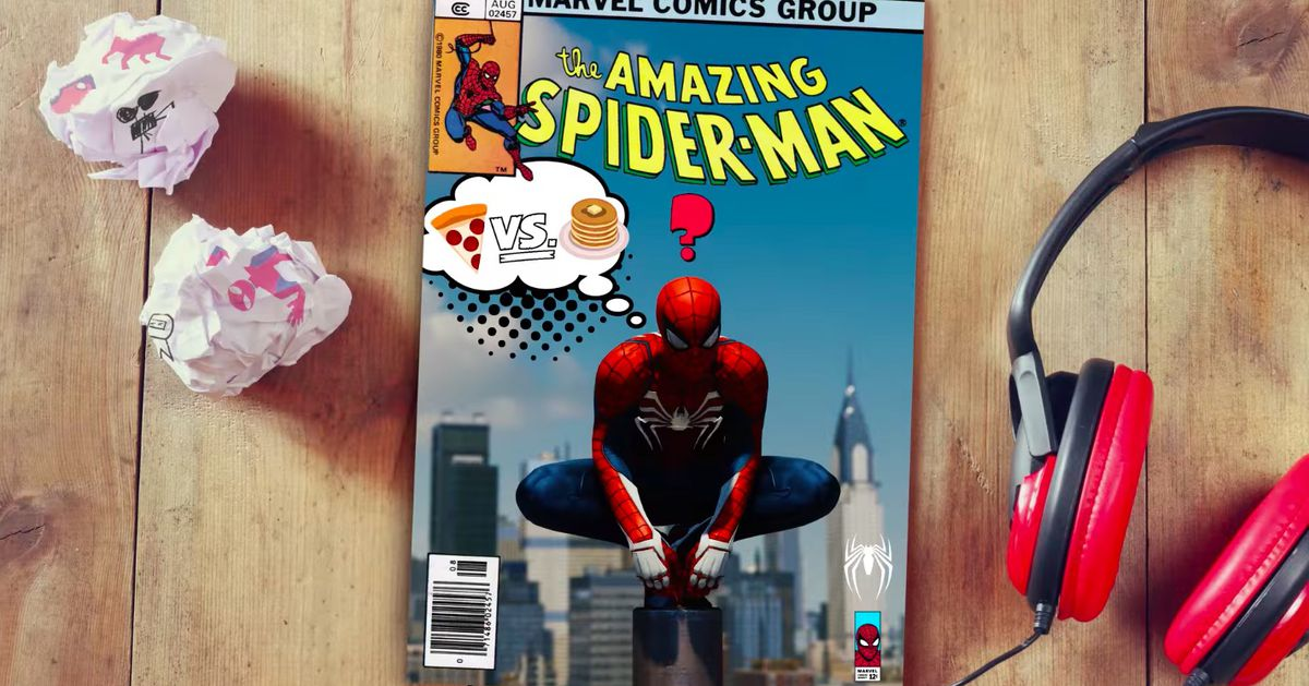 Spider-Man's photo mode lets you make cool custom comic book covers
