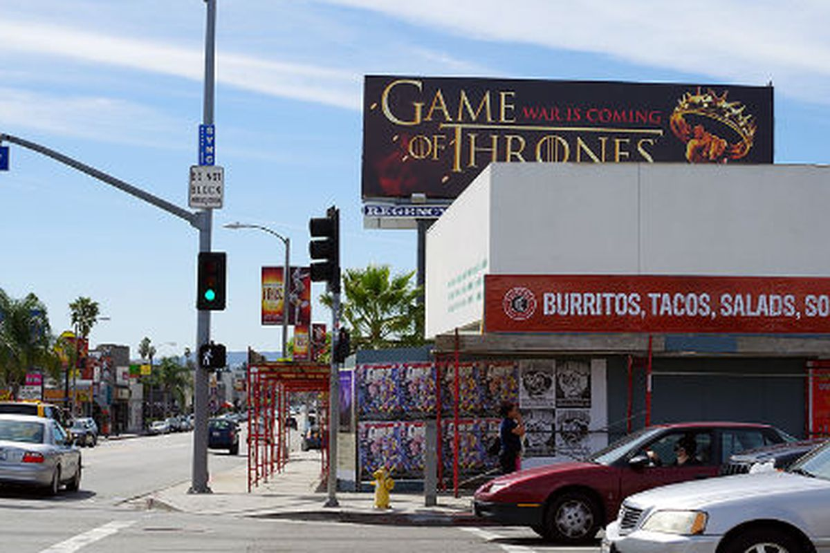 """Melrose and La Brea. Photo via <a href=""""http://www.laimyours.com/13579/two-more-to-watch-the-melrose-corridor-and-thai-town/"""">LA, I'm Yours</a>."""