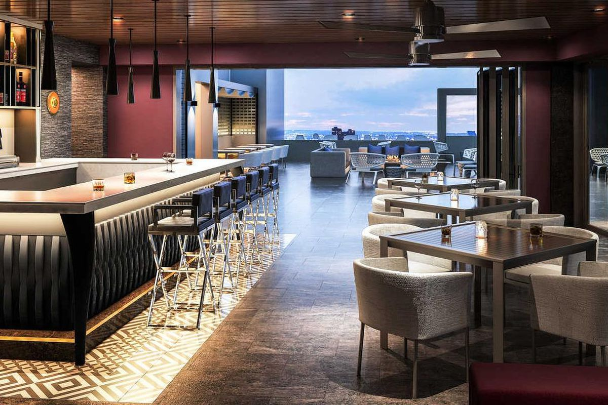 Rooftop restaurant attico is all about the views eater