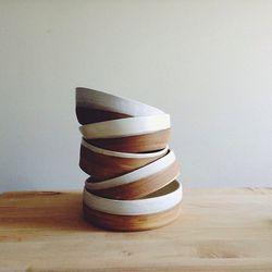Trollhagen & Co. Two-Tone Bowls, $59 each