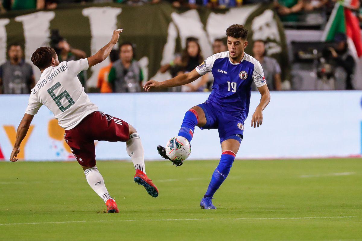 SOCCER: JUL 02 CONCACAF Gold Cup Semifinals - Haiti v Mexico