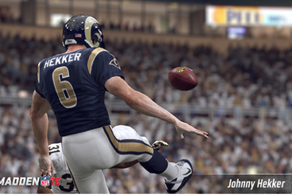 Johnny Hekker: Awesome at Football  Awesome in Madden  Awesome at