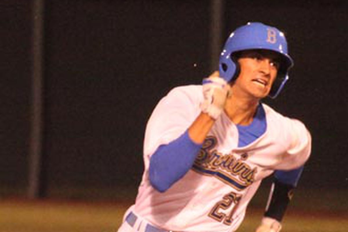 Luke Persico on his way to another run for UCLA