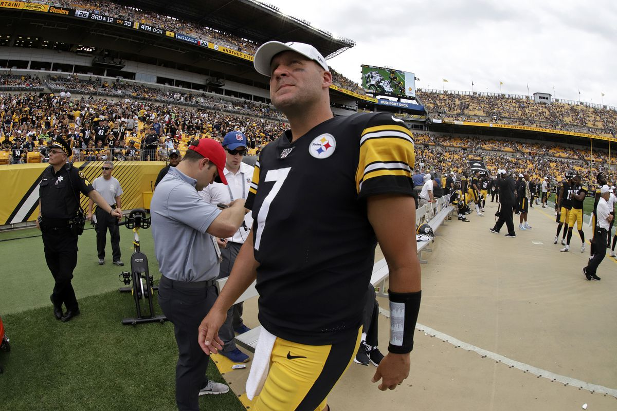 Steelers QB Ben Roethlisberger out for season with elbow injury