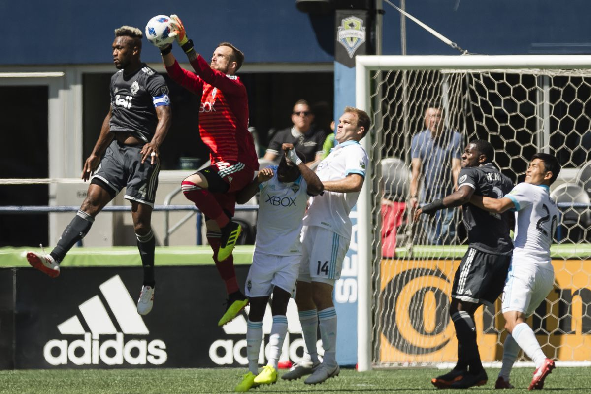 MLS: Vancouver Whitecaps at Seattle Sounders FC