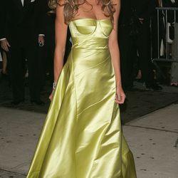 Elle Macpherson in Calvin Klein Collection in 2005.