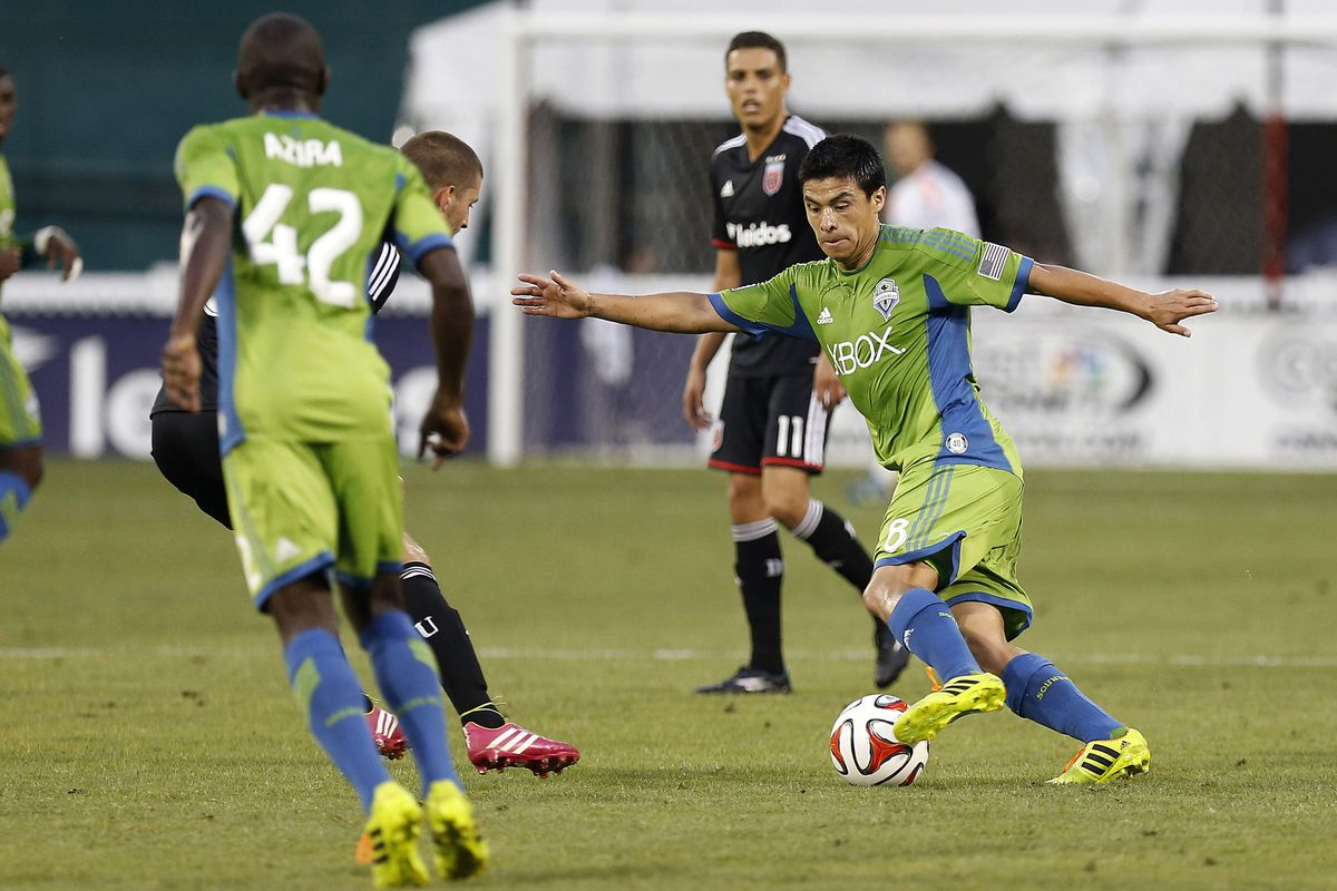 Gonzalo Pineda had another standout performance for the Seattle Sounders in D.C.
