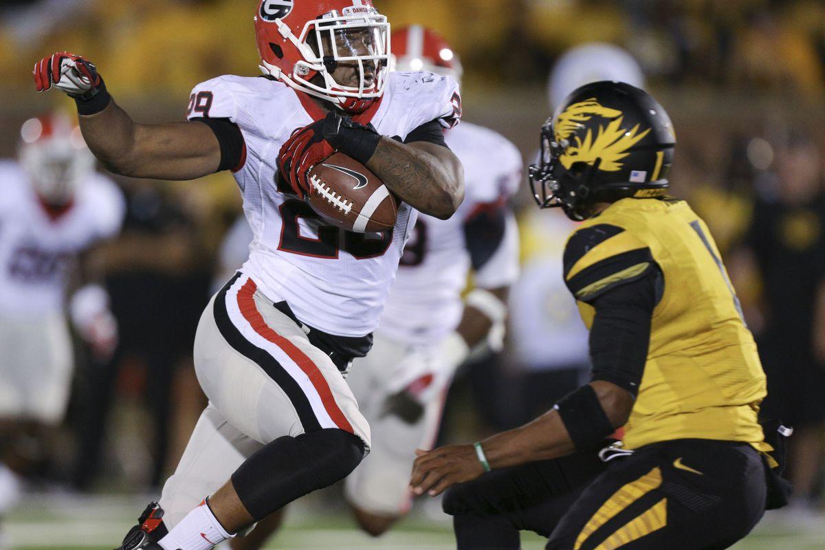 2012 Georgia Vs Missouri Highlights: Aaron Murray, Jarvis