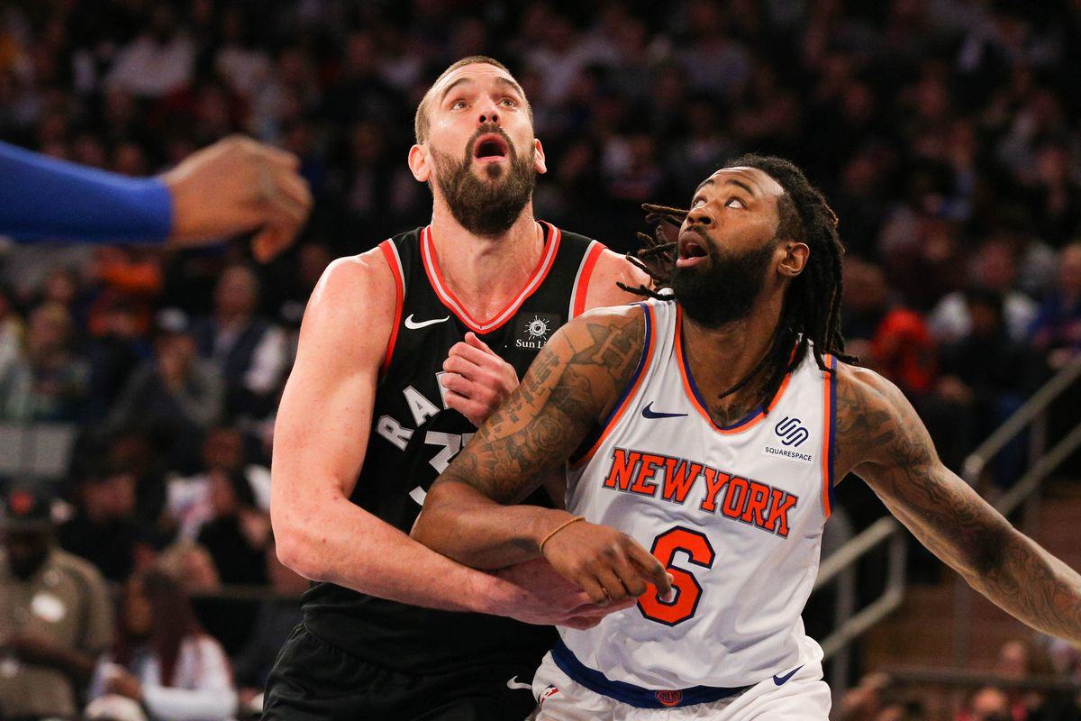 Five thoughts recap: Toronto Raptors 104, New York Knicks 99, Marc Gasol