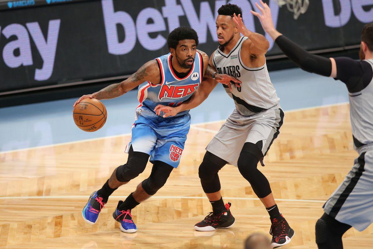 NBA: Portland Trail Blazers at Brooklyn Nets