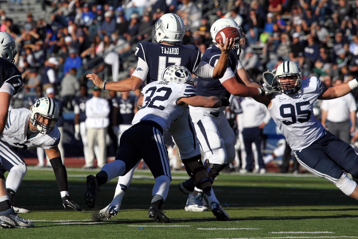 BYU looks for a defense more like 2013's seen here, not 2014's.