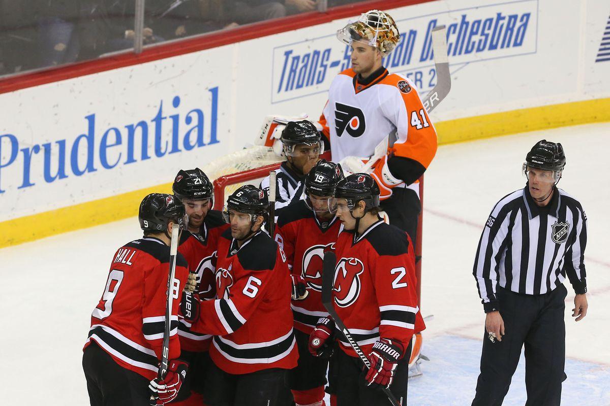big sale 8f54a 91a59 Gamethread #69: New Jersey Devils vs. Philadelphia Flyers ...