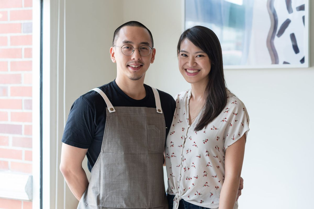 Chef Chris Yang and general manager Maggie Ho of Yang's Kitchen in Alhambra