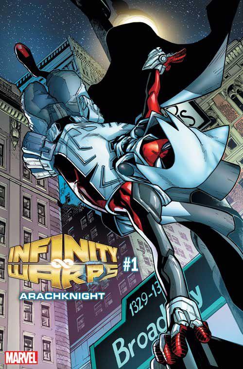 漫威的新Infinity Warps迷你剧让你最喜欢的英雄们大为光彩