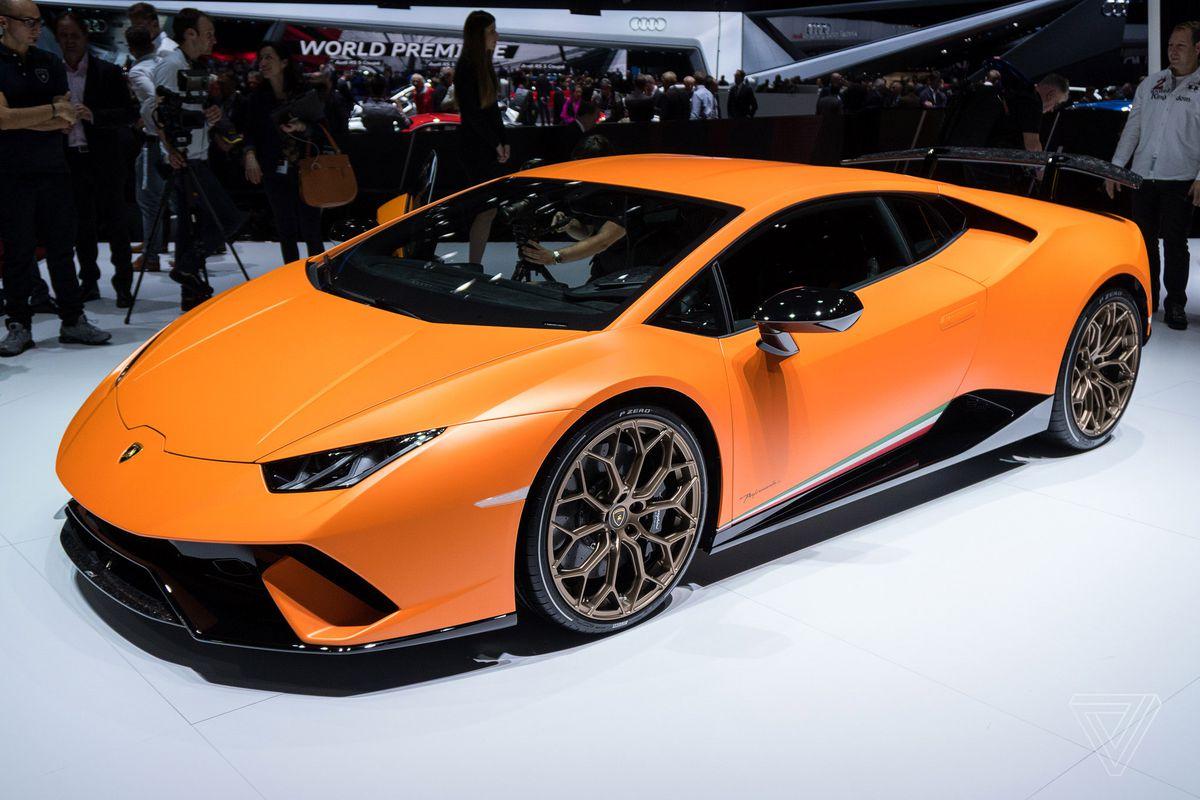 Lamborghini's Huracán Performante Looks Like A Demon In