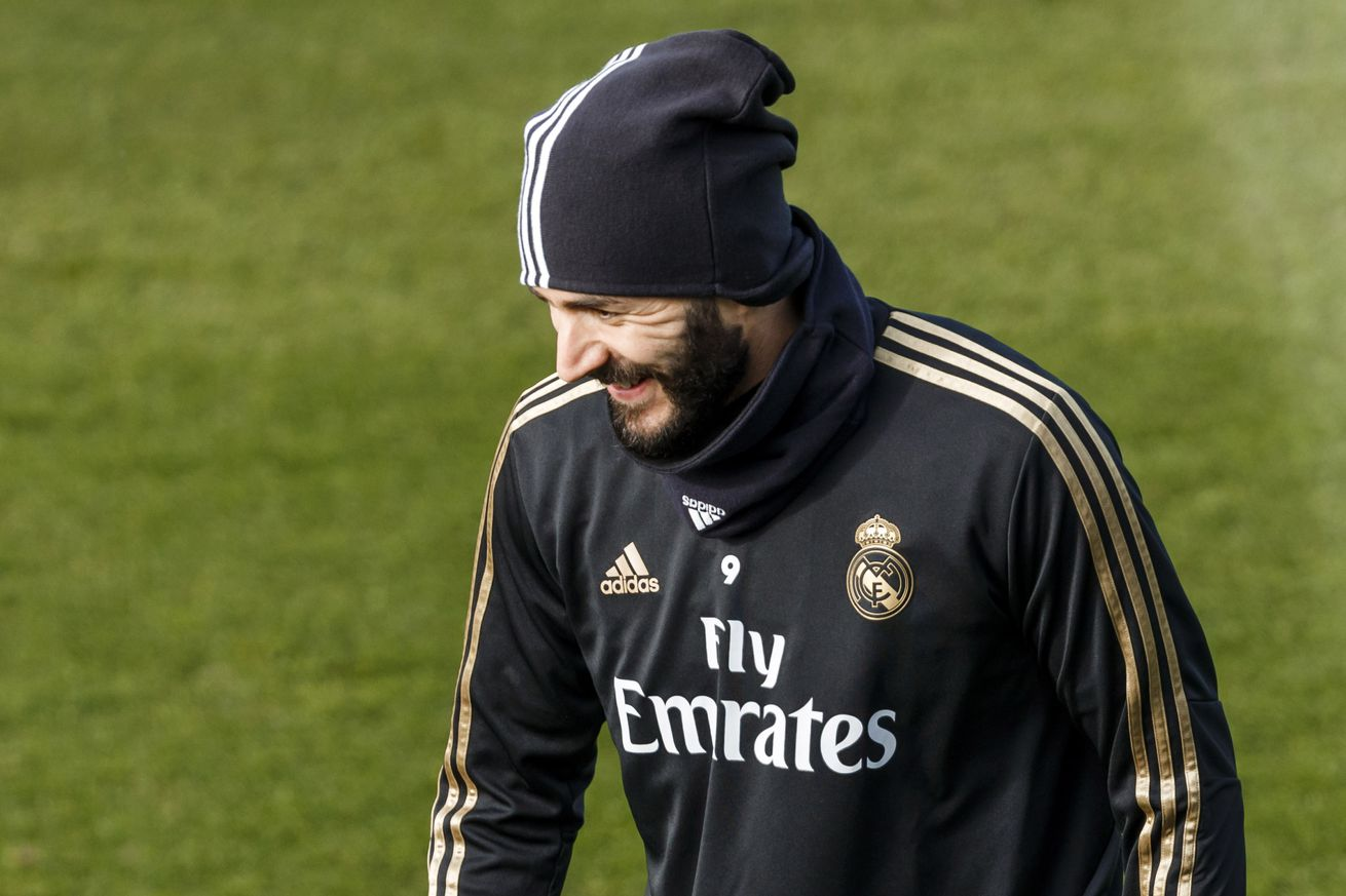 Benzema completes part of session with Real Madrid, should be available against Sevilla