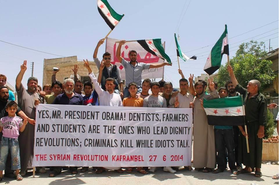 Kafranbel dentists students farmers