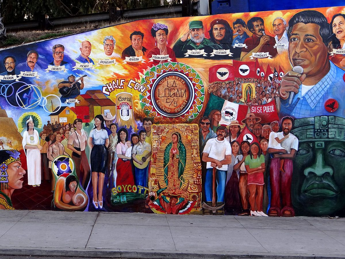 Chicano Park Mural in San Diego
