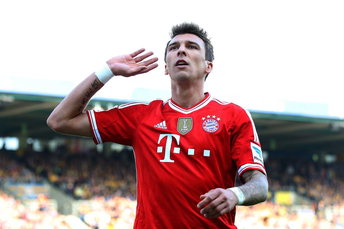 Mario Mandzukic scored a lot of goals for Bayern Munich last