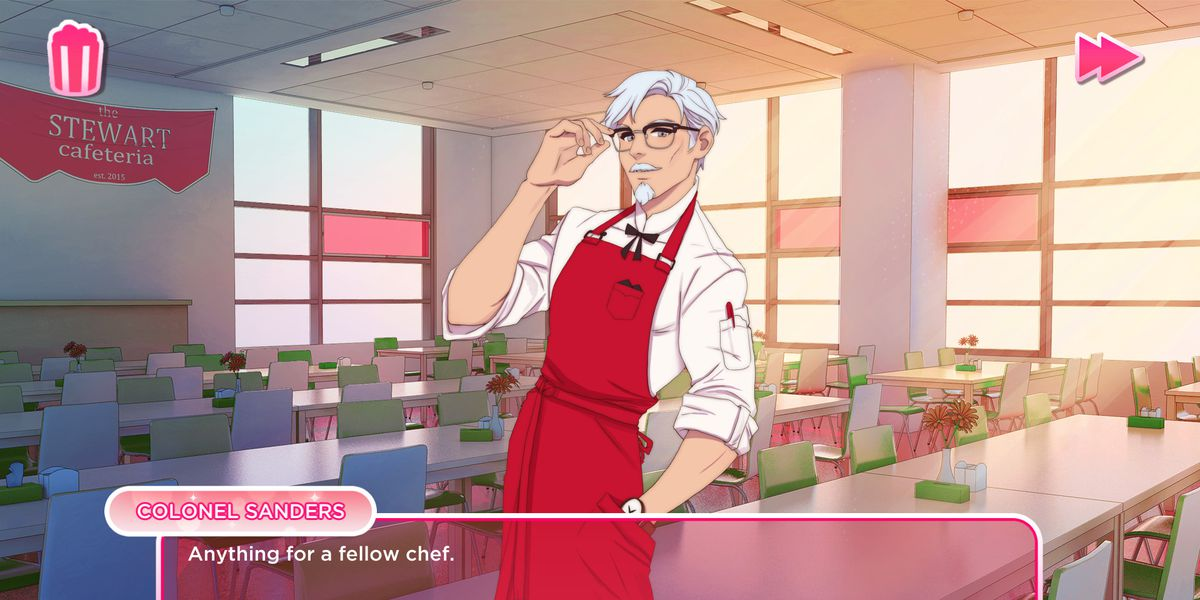KFC is apparently creating a Colonel Sanders dating sim