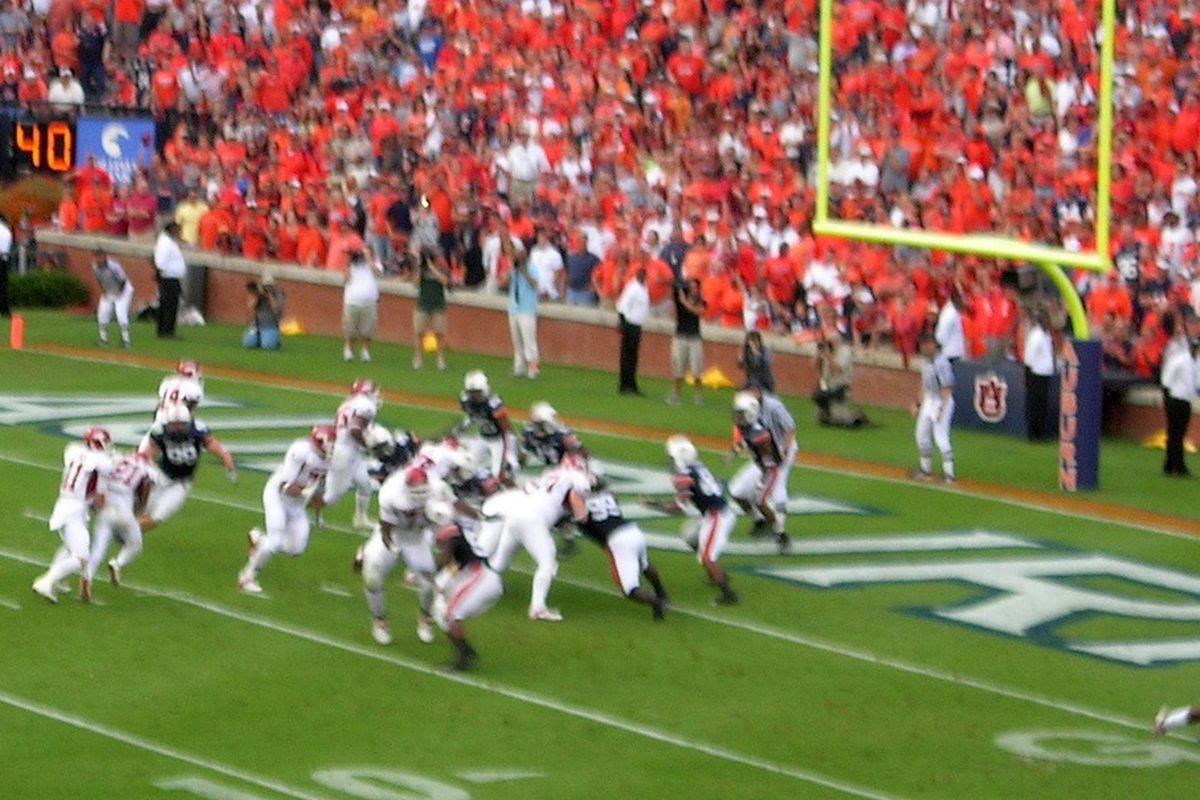 <em>It's been a while since Auburn has slowed down Arkansas.</em>