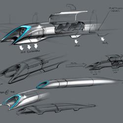 Hyperloop passenger car