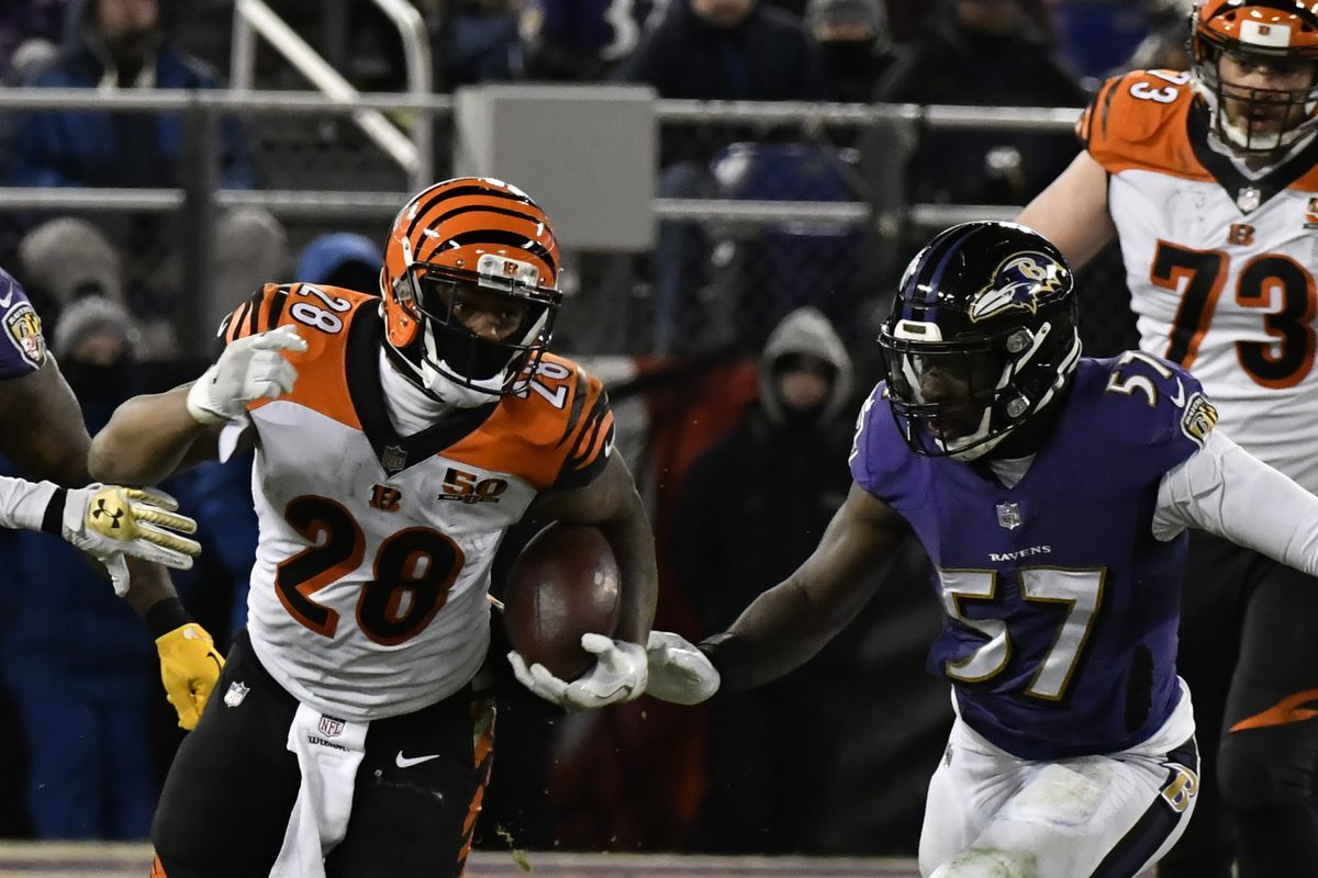 bengals vs ravens live updates from week 2 plus how to watch