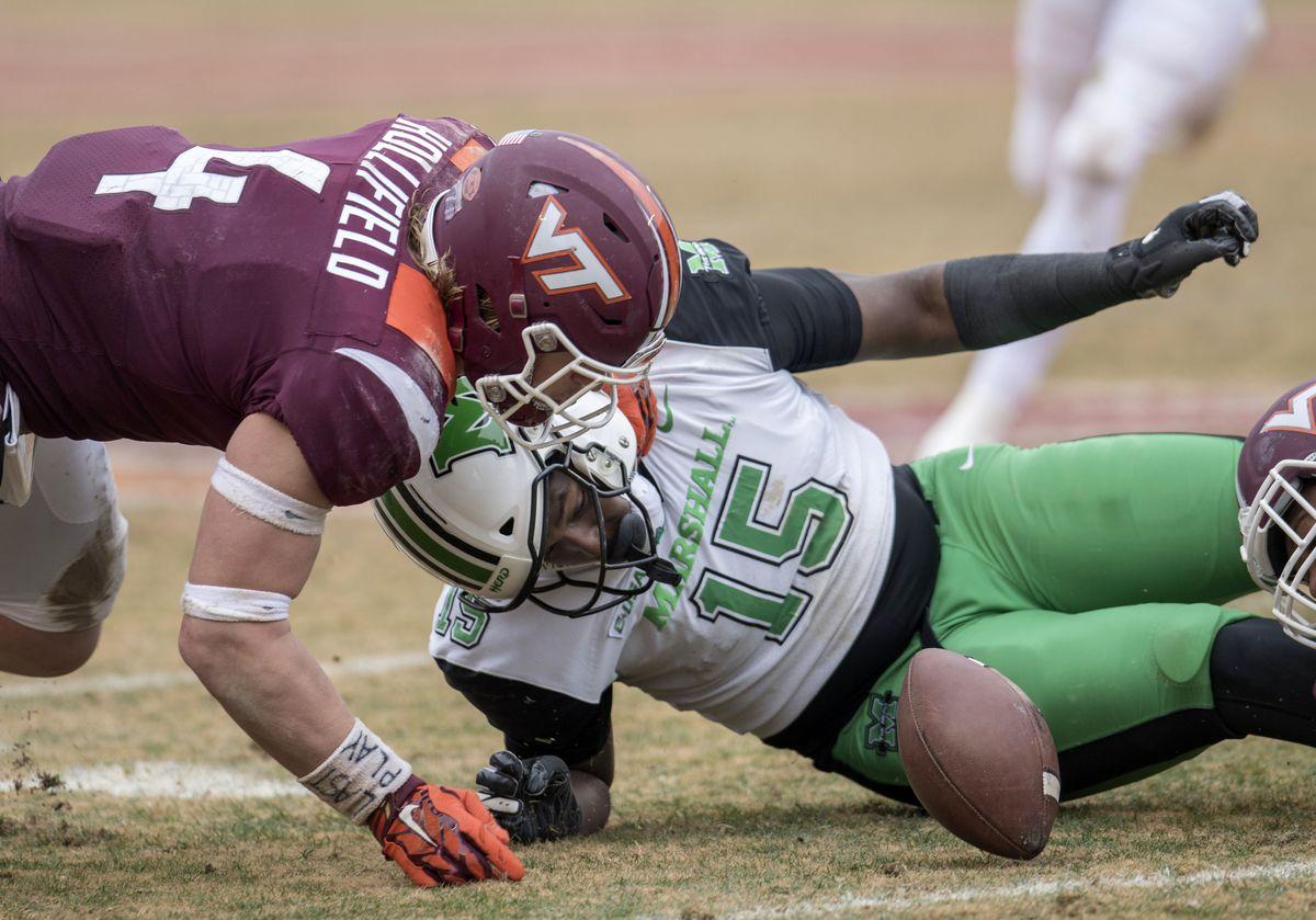 NCAA Football: Marshall at Virginia Tech
