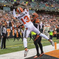 December 2019: Week 17 ended with the Browns being pushed around pretty easily by the Bengals, who led 20-7 before Cleveland tried striking back with a 10-0 run heading into the half. Joe Mixon finished the day with 162 yards on the ground, and Nick Chubb lost the rushing title to RB Derrick Henry from not getting enough work against the league's worst-ranked run defense. The Bengals won just their second game of the year, 33-23, as Cleveland finished 6-10.