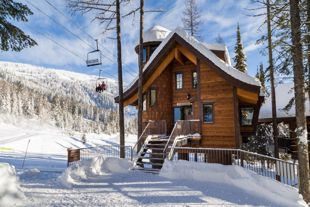 Snow Bear Chalets At Whitefish Mountain Resort Photo By Trevon Baker Courtesy Of