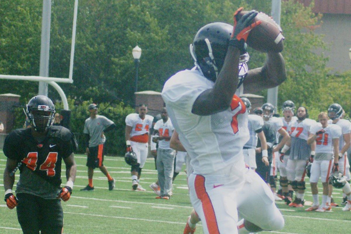 Brandin Cooks continues to look like he's ready to have a big season for the Beavers.
