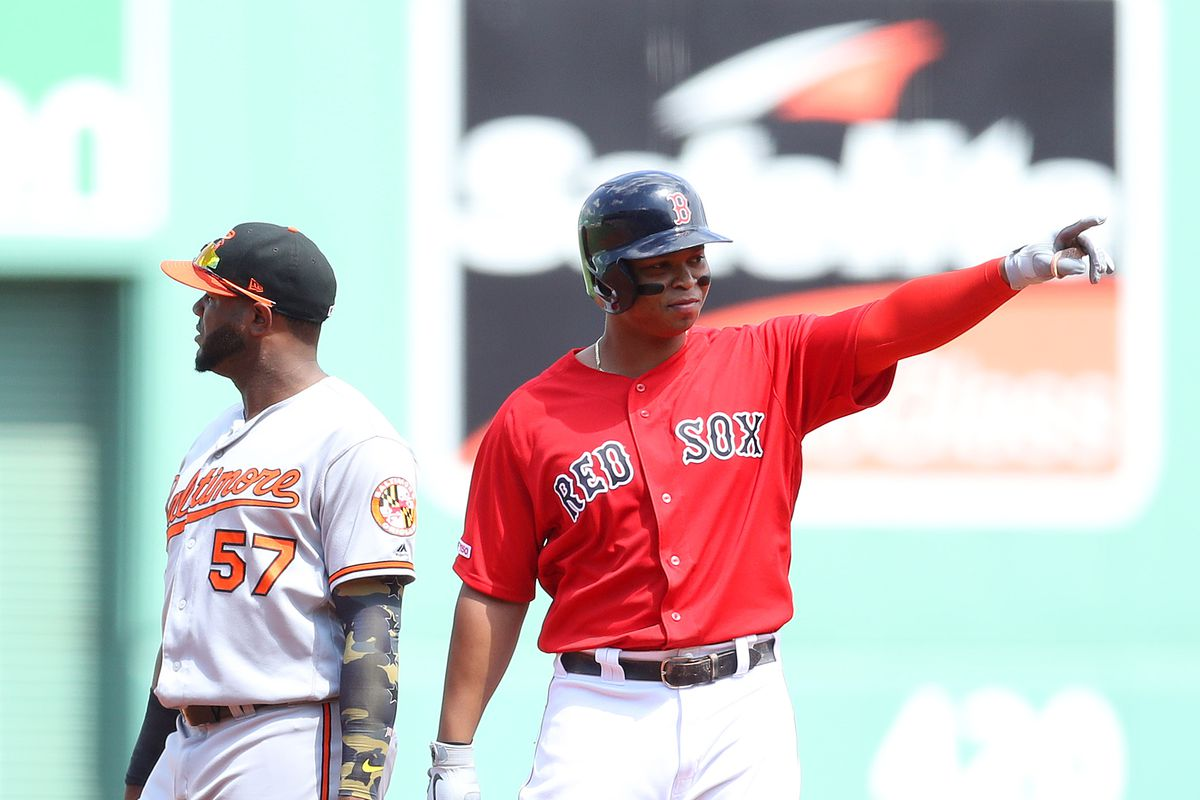 newest 5a874 ed4bd Rafael Devers has officially broken out - Beyond the Box Score