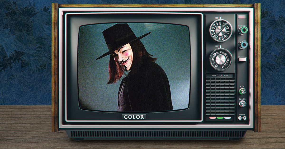V for Vendetta knew our future would be a bleak one