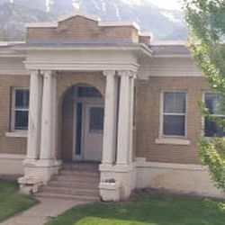 The Pleasant Grove Tithing Office was also used as a Relief Society Hall.