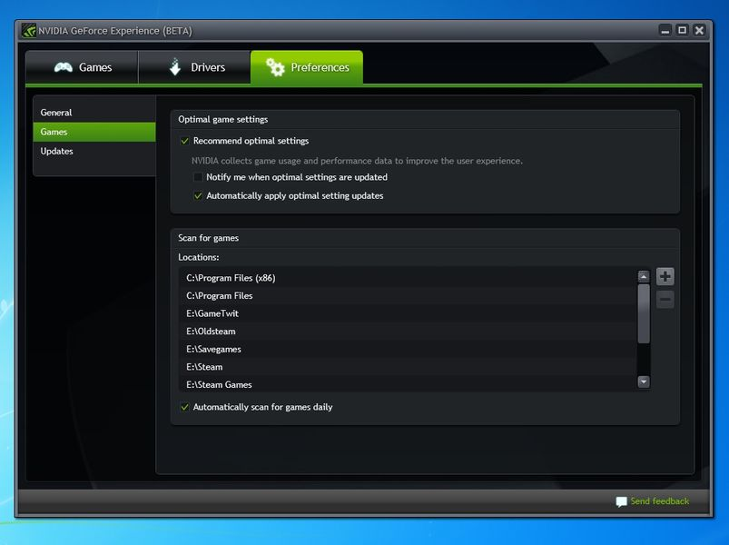 how to make geforce experience startup