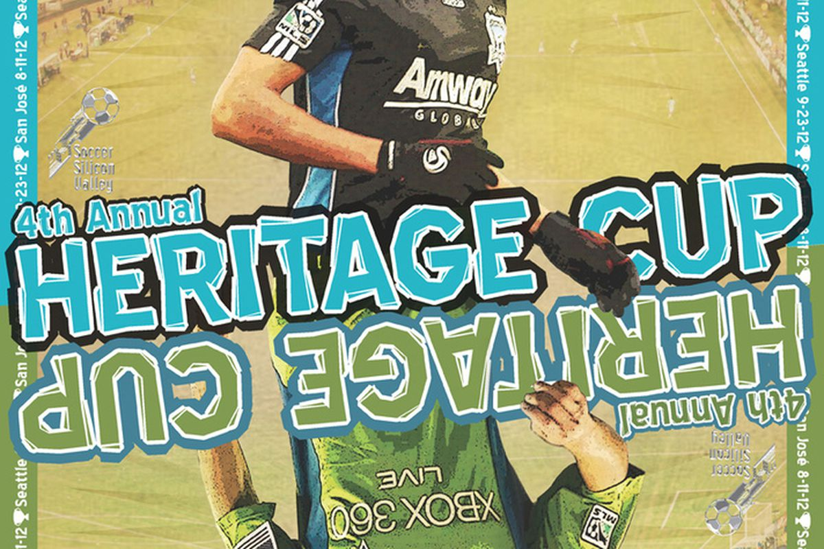 """<a href=""""http://www.ssvcf.org/heritagecup.html"""">The Heritage Cup</a> continues on Saturday as Seattle visits the Bay Area for the second time this year. San Jose leads the series 1-0-0 in MLS play."""